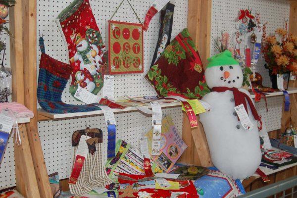 arts and crafts display