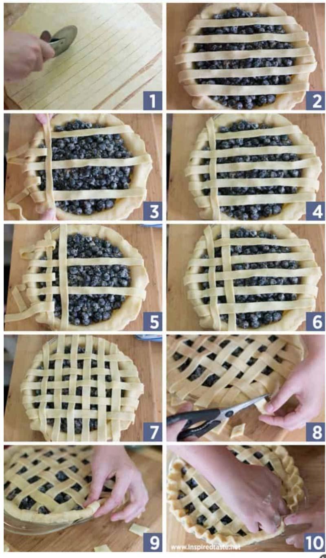 lattice pie crust demo