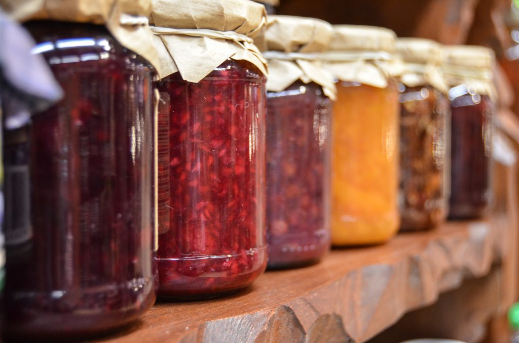 preserves jams jellies